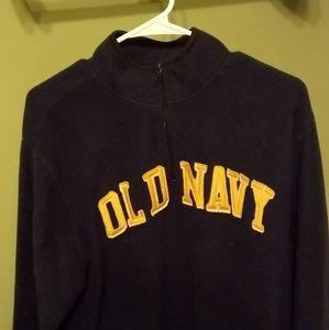 Old Navy 3/4 zip pull over sweatshirt
